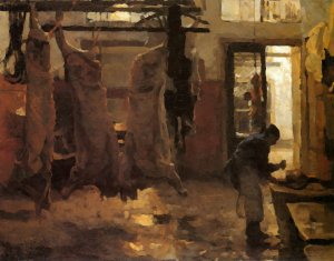 Willem_Bastiaan_Tholen_-The_Slaughterhouse_Sun