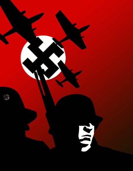 WW_II_Nazi_propaganda_poster_by_bazaaa