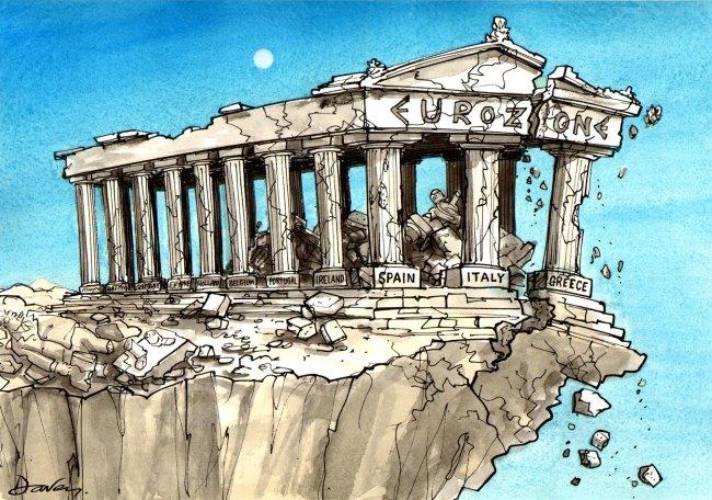 Davey_cartoon_Parthenon-Eurozone_12-086