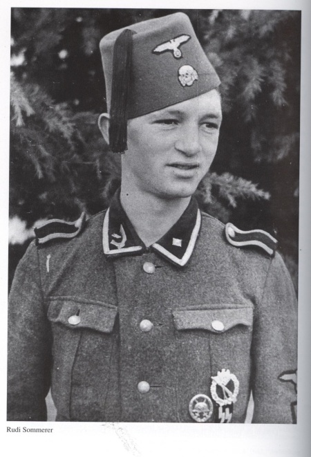 SS-Uscha. Rudolf Sommerer, an NCO of the Albanian Battalion in the Bosnian Muslim Handzar SS Division.