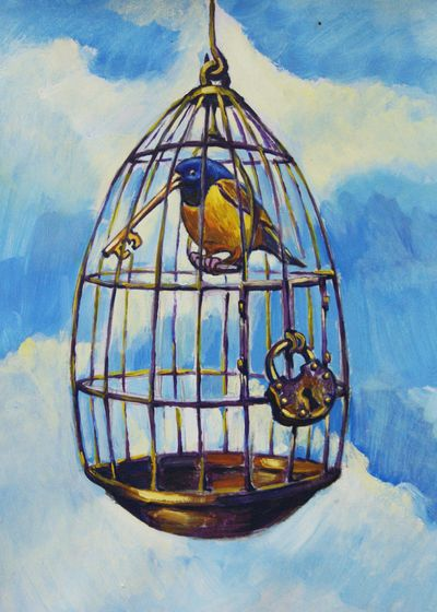 the_bird_in_a_cage__viacheslav_kazanevskyi